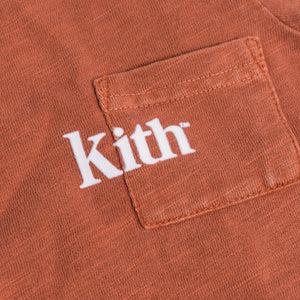 Kith Kids Toddlers Quinn Onesie - Clay