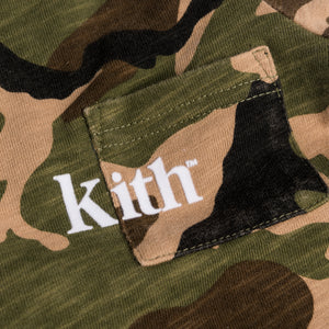 Kith Kids Toddlers Quinn Onesie - Woodland Camo Image 2