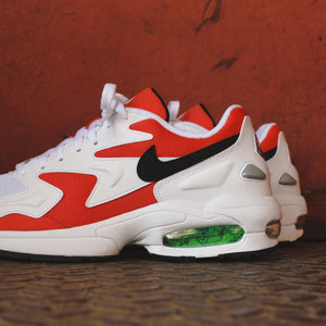 half off cd1c5 c0e09 Nike Air Max Light 2 - White   Black   Habanero Red   Cool Grey