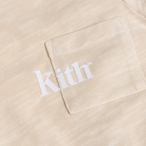 Kith Kids Toddlers Quinn Onesie - Turtle Dove Image 2