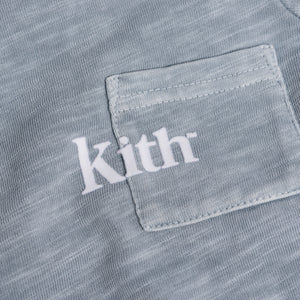 Kith Kids Toddlers Quinn Onesie - Light Indigo