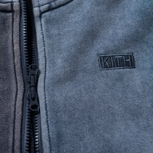 Kith Kids Tri-Block Zip Hoodie - Light / Medium / Dark Indigo