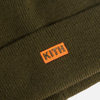 Kith Kids Spring Beanie - Olive Night Thumbnail 1