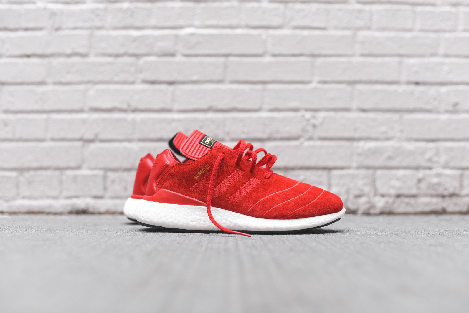 adidas Busenitz Pure Boost - Scarlet Red