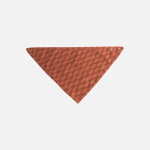 Kith Kids Toddlers Bandana Bib - Clay