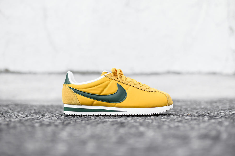 Nike Cortez PRM - Yellow / Green