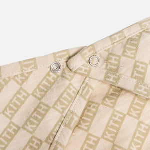 Kith Kids Toddlers Bandana Bib - Turtle Dove