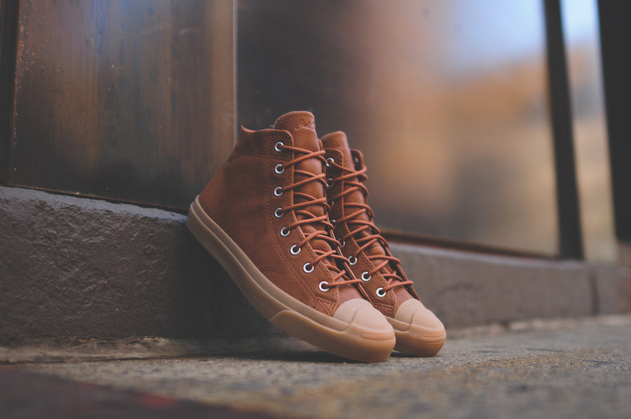 Converse Jack Purcell Jack Mid - Brown