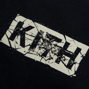 Kith Splintered Logo Tee - Black