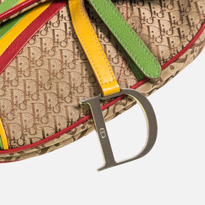 Dior Oblique Saddle Bag - Multi