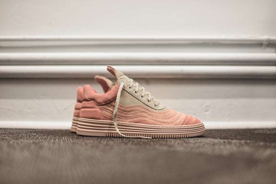 Filling Pieces Low Top Wavy - Nude