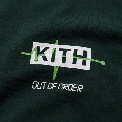Kith Out of Order Tee - Hunter Green