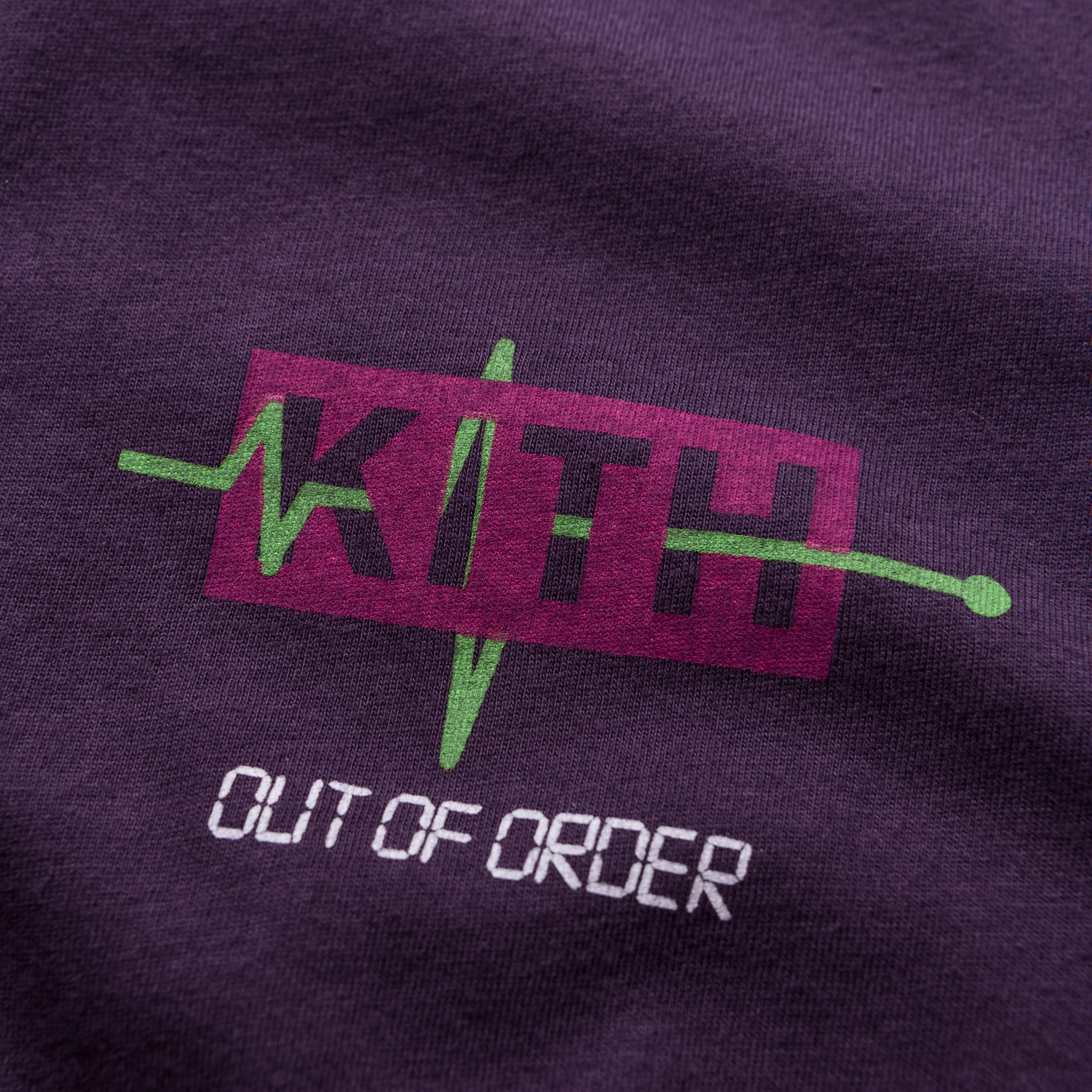 Kith Out of Order Tee - Purple