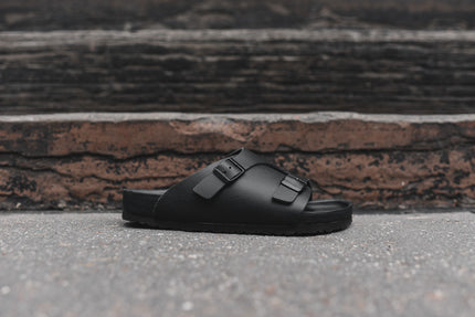 Birkenstock Zurich Exquisite Premium - Blackout Leather