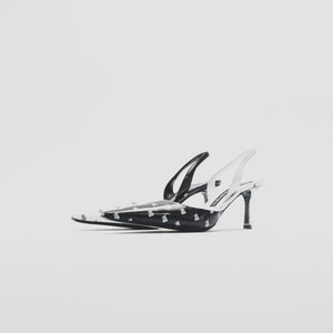 Alexander Wang WMNS Grace Heel - Black / White