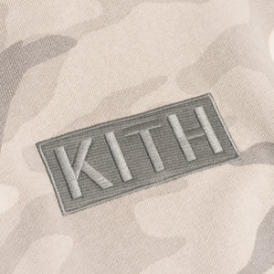 Kith Multi-Camo Williams Hoodie - Off Beige Camo
