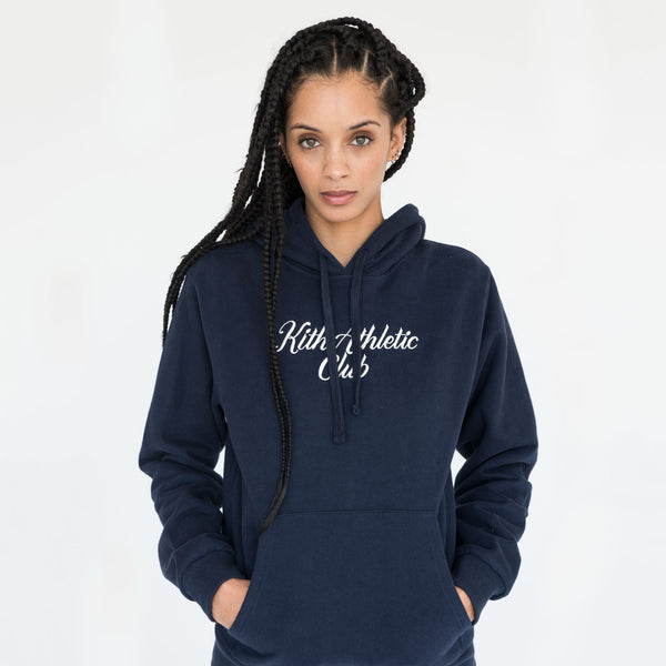 Kith Athletic Club Williams Hoodie - Navy