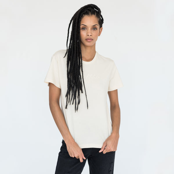 Kith Athletic Club Basic Tee - Cream