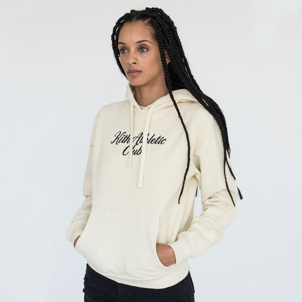 Kith Athletic Club Williams Hoodie - Cream