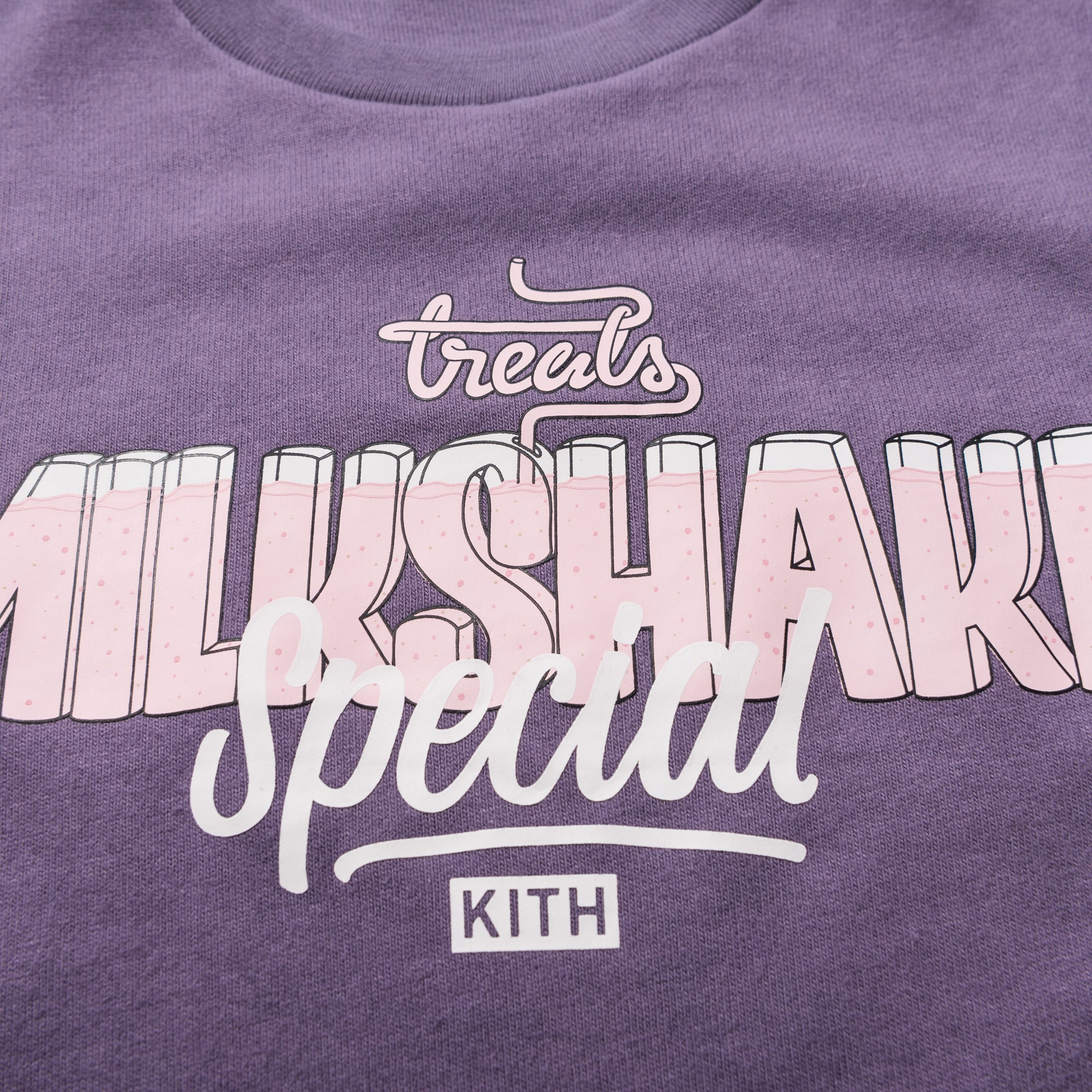 Kith Treats Milkshake Special L/S Tee - Purple