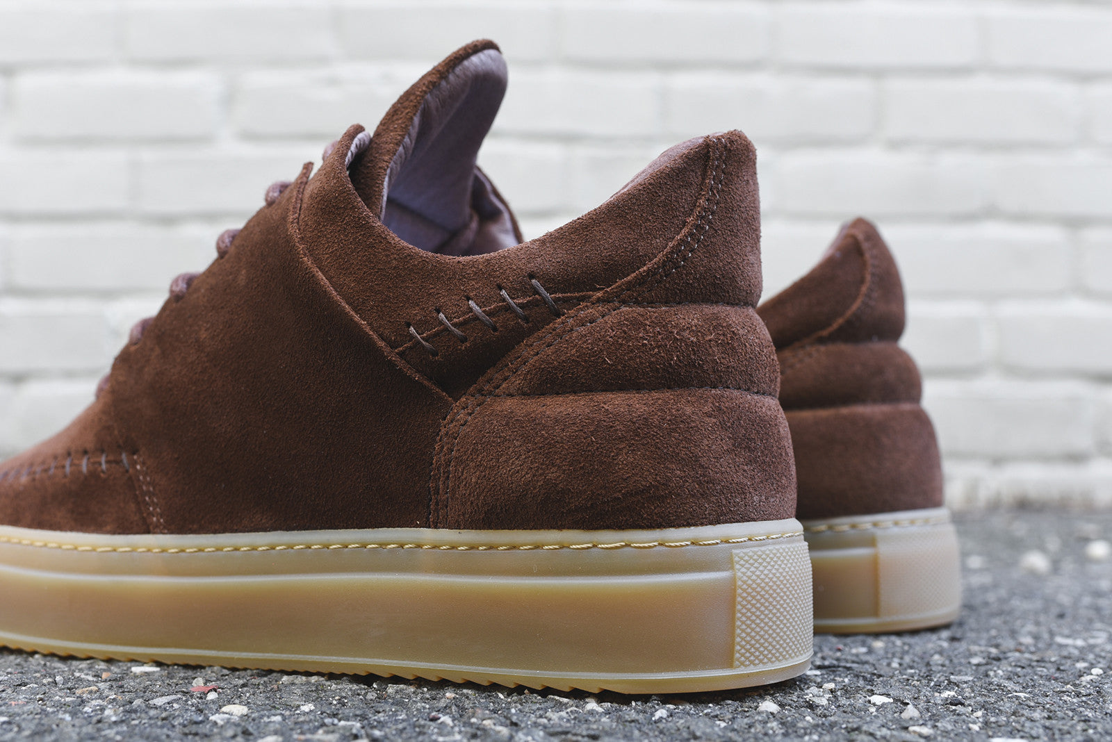 Filling Pieces Low Top Apache - Brown