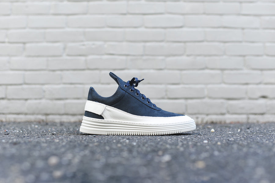 Filling Pieces Low Top Maverick - Navy