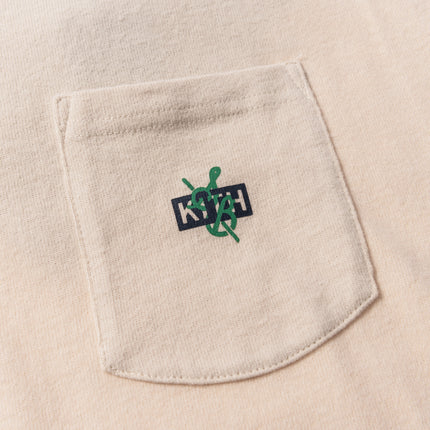 Kith x Sadelle's Pocket Tee - Turtle Dove