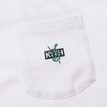 Kith x Sadelle's Pocket Tee - White