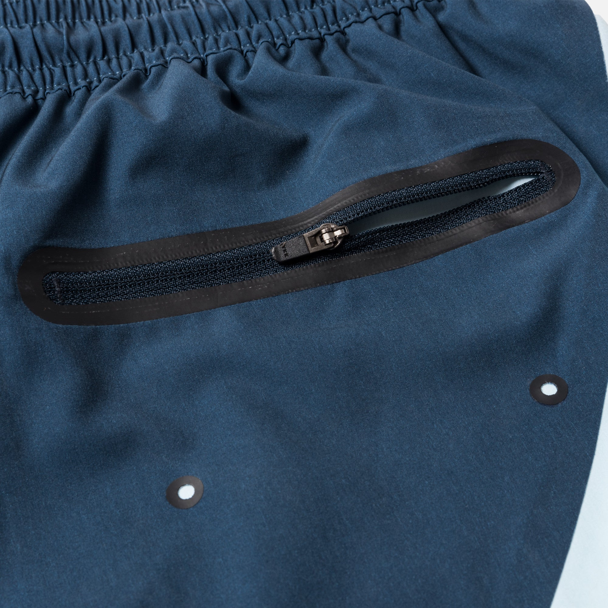 Kith Coney Swim Trunk - Navy / Sky Blue