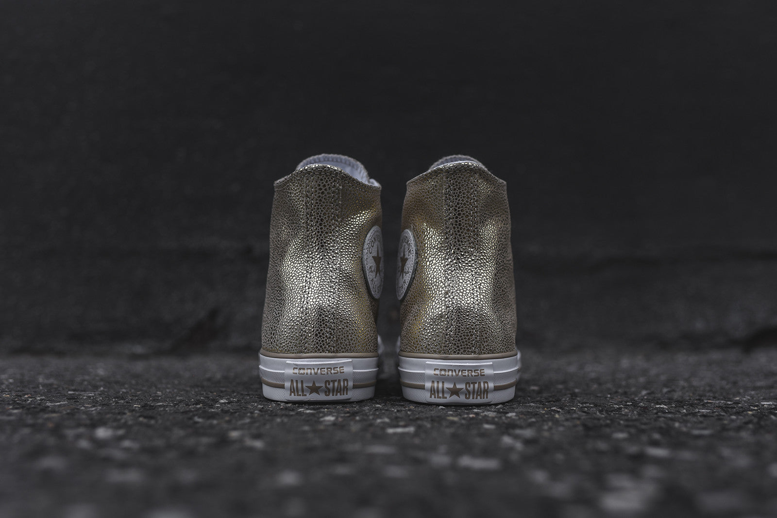Converse WMNS Chuck Taylor All Star Hi Stingray - Metallic Gold