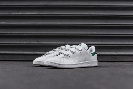 adidas Originals Stan Smith Velcro - White / Green