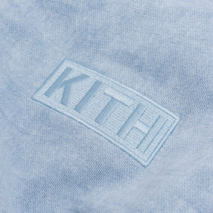 Kith Two-Tone Indigo Hoodie - Light Indigo