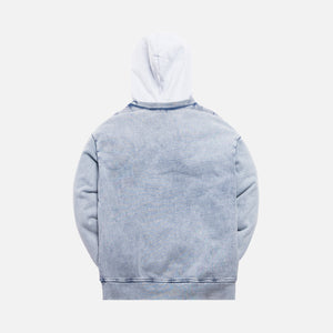 Kith Two-Tone Indigo Hoodie - Medium Indigo