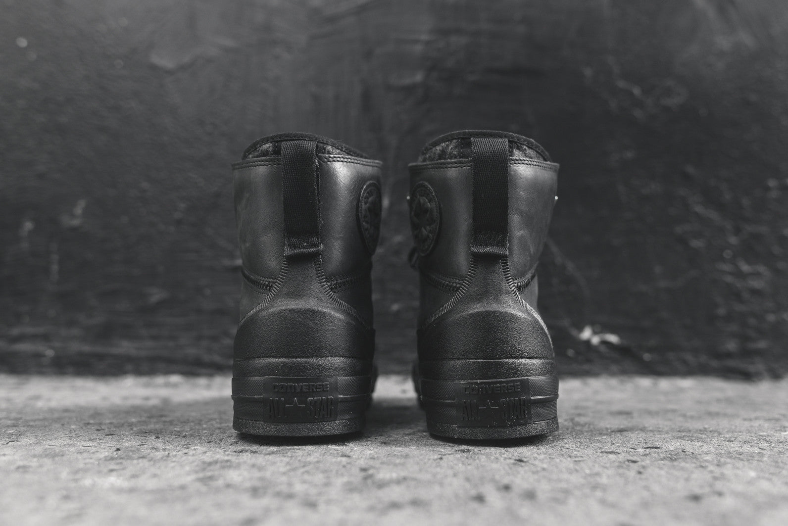 Converse Chuck Taylor All Star Tekoa Boot - Triple Black