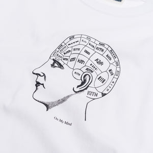 Kith On My Mind Tee - White