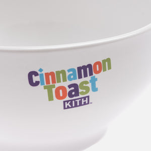 Kith Treats x Cinnamon Toast Crunch Bowl - White