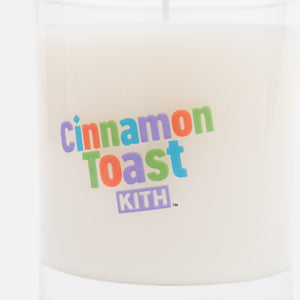 Kith Treats x Cinnamon Toast Crunch Candle - White