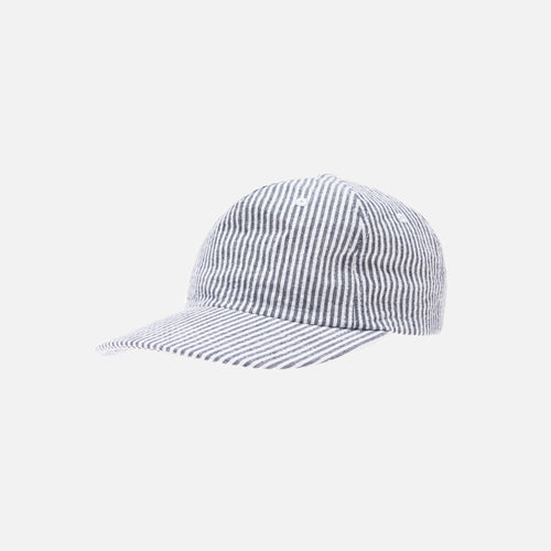 Kith Seersucker Cap - Navy / White