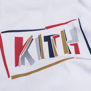 Kith Fractured L/S Tee - White