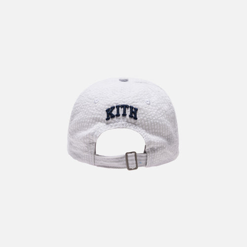 Kith Seersucker Cap - Grey / White
