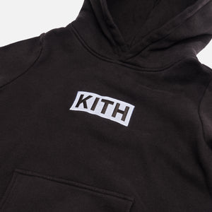 Kith Kids Classic Logo Williams Hoodie - Espresso