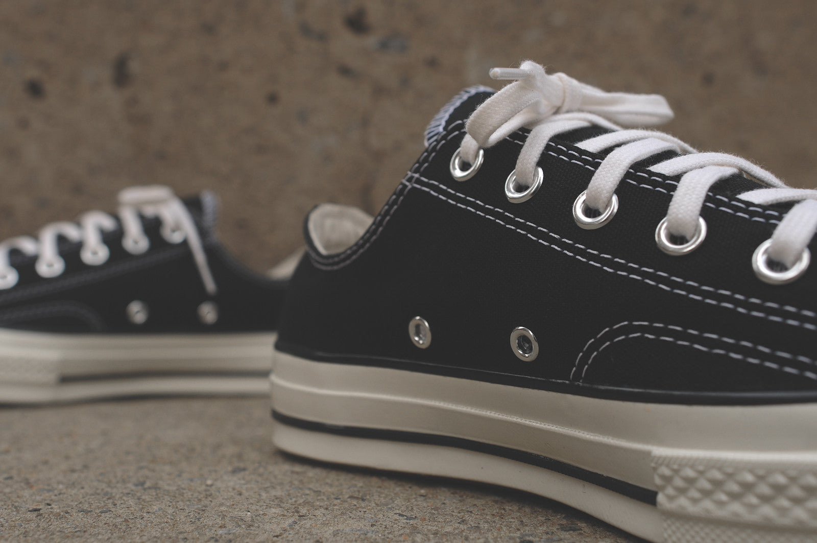 Converse Chuck Taylor All Star Low 1970 - Black / White