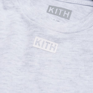 Kith Kids JFK Tee - Heather Grey Image 3