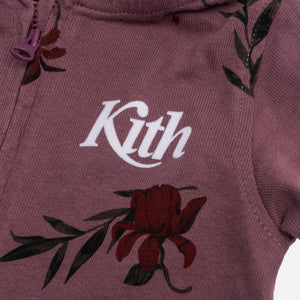 Kith Kids Toddlers Floral Coverall - Grape Snake