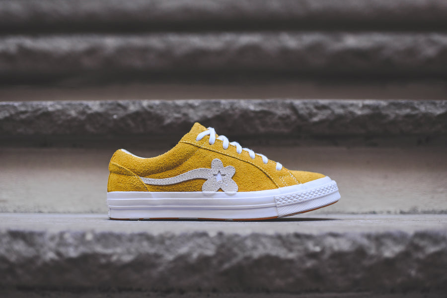 Converse x Golf Le Fleur One Star - Solar / White