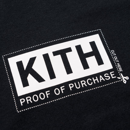 Kith Treats Proof Of Purchase Tee - Black