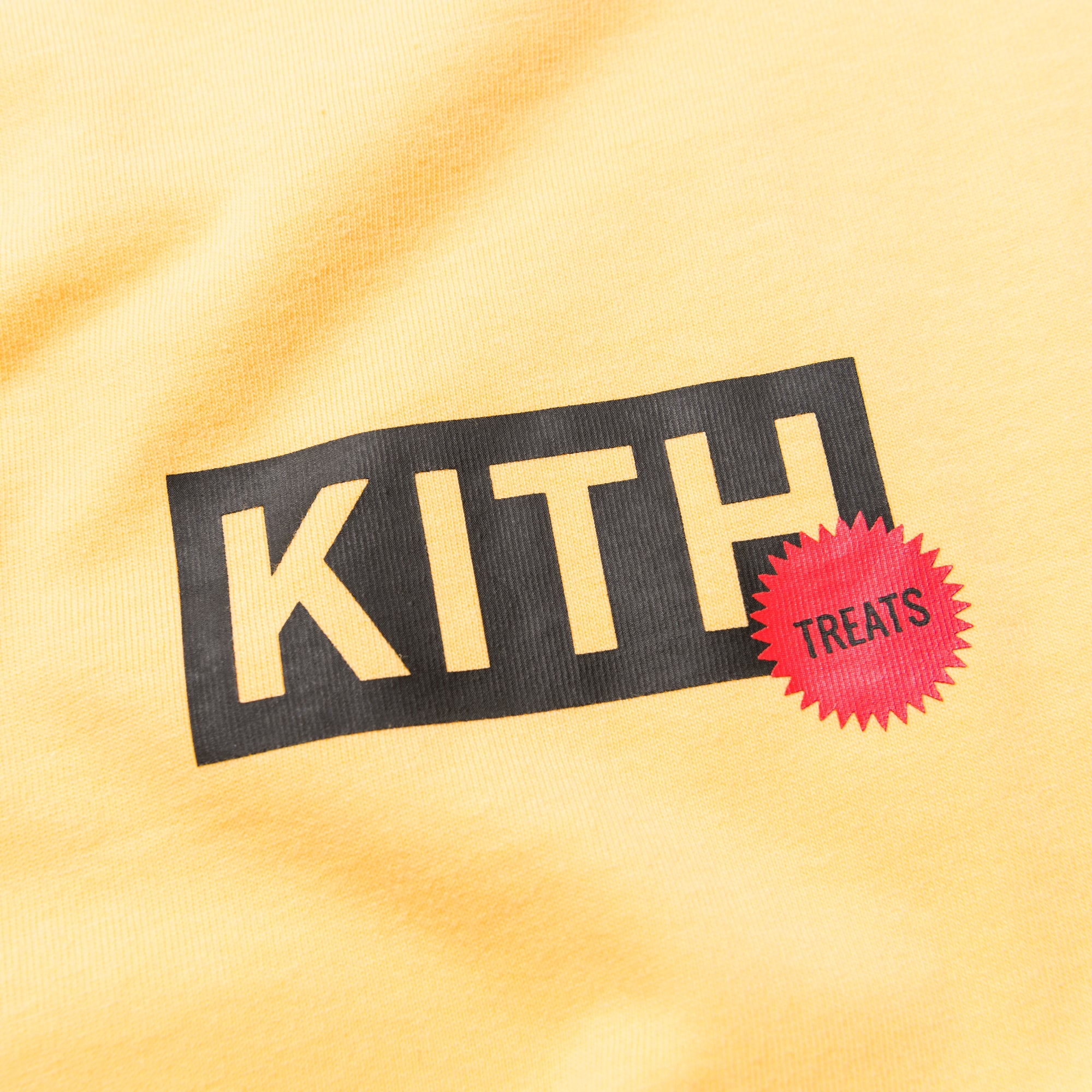 Kith Treats Proof Sticker Tee - Yellow