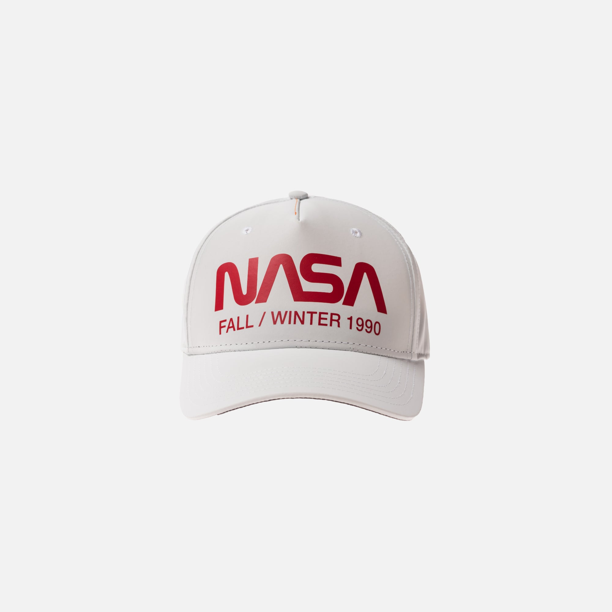 Heron Preston x NASA Reflective Cap - White / Red