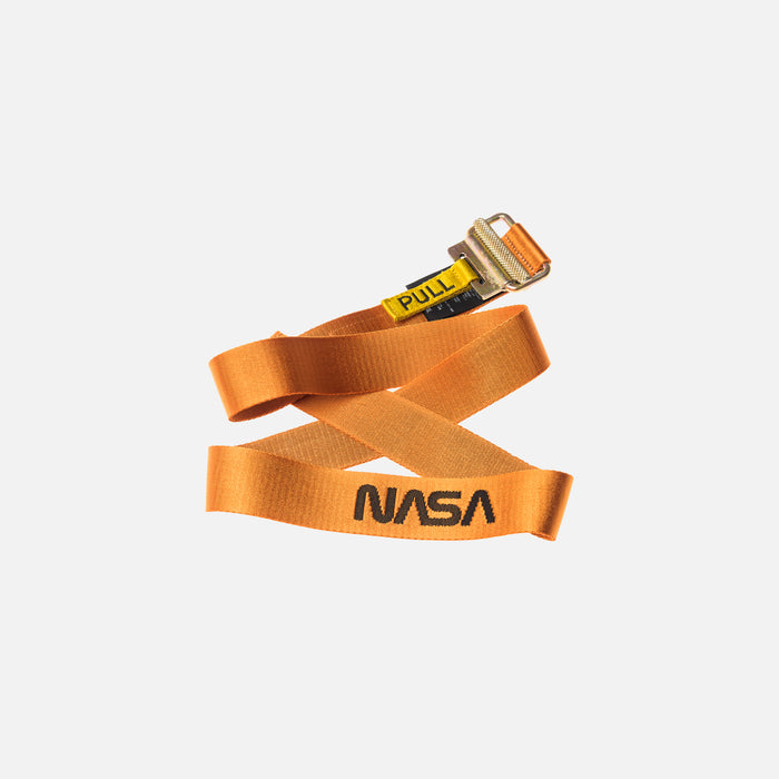 Heron Preston x NASA Jacquard Tape Belt - Orange / Black