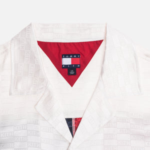 Kith x Tommy Hilfiger Satin Camp Shirt - White